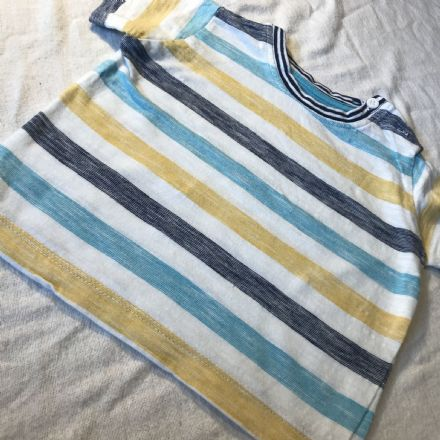 3-6 Month Yellow and Blue Mix Tee